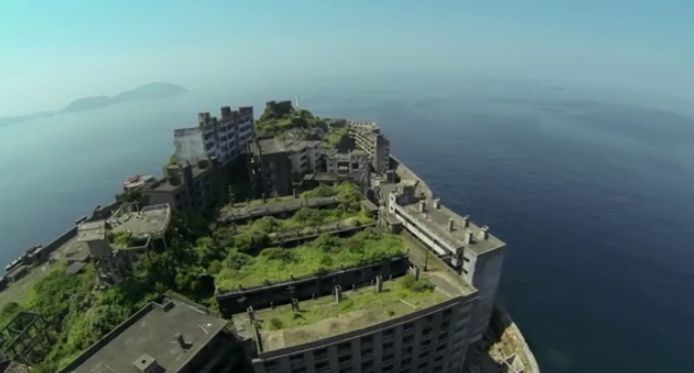軍艦島をストリートビュー / Google Maps Street View of Battleship Island