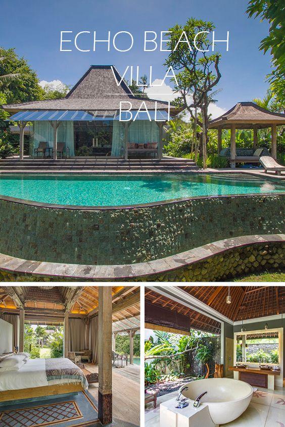 ECHO BEACH VILLA | BALI - Authentisches Bali-Feeling in Traumlage an einem Fluss zwischen Strand und Reisfeldern