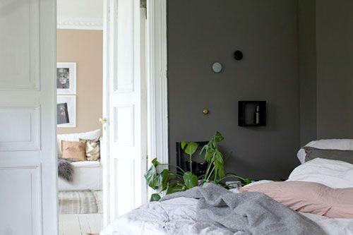 Grijze slaapkamer inspiratie | Slaapkamer ideeën