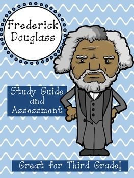 FREEBIE Friday! An awesome resource for third grade! Study Guides, Vocabulary Review, and Assessment on Frederick Douglass.