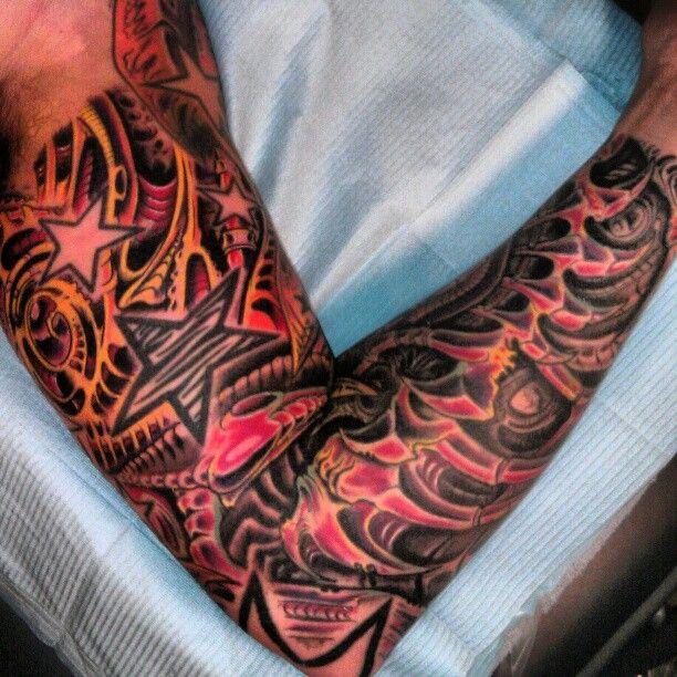 27 Leg Sleeve Tattoo Designs Ideas: 28 Best Full Leg Sleeve Tattoo Designs Images On Pinterest