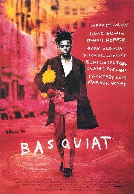 Basquiat, film américain de Julian Schnabel, sorti en 1996, basé sur la vie de l'artiste Jean-Michel Basquiat (1960-1988).
