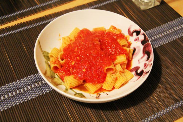 Homemade Marinara Sauce from the Garden