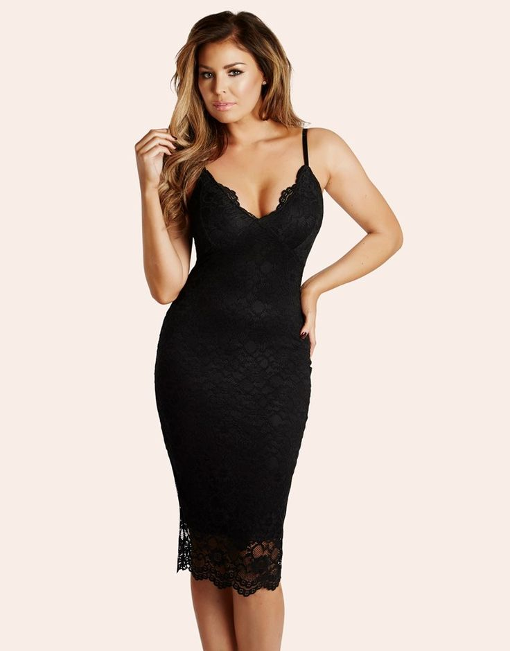 Jessica Wright Lace Bodycon Dress