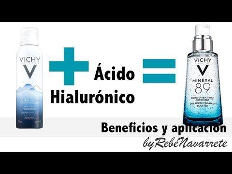 Mineral 89 de Vichy: los beneficios del agua termal y el ácido hialurónico