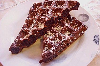 Schokoladen - Brownie - Waffeln, ein sehr schönes Rezept aus der Kategorie Kekse & Plätzchen. Bewertungen: 7. Durchschnitt: Ø 4,1.