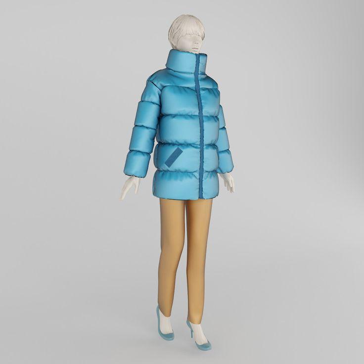 clothes mannequin shops 3d max