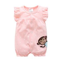 Pasgeboren/baby kleding katoenen baby meisje kleding zomer zuigeling meisje dress jumpsuits kids/jongens/kostuum voor pasgeboren meisje romper(China (Mainland))