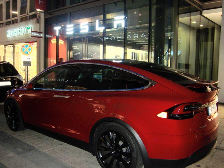 Found this beauty in Hamburg #Tesla #Models #car #Automotive #cars #Autos