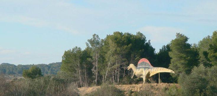 The Musée-Parc des Dinosaures (Dinosaur Museum-Park) in Mèze France
