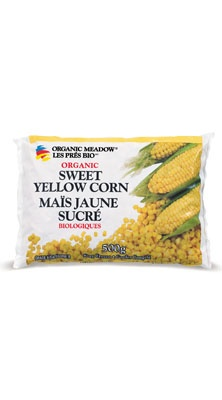 Organic Meadow - Our Products » Organic Frozen Vegetables » Organic Sweet Yellow Corn