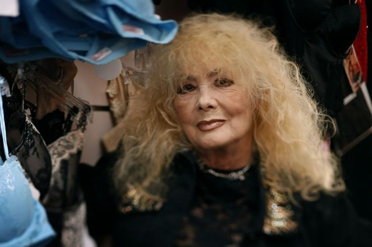 Legendary North Beach stripper Carol Doda works at her Champagne and Lace lingerie shop in San Francisco on Tuesday, July 14, 2009. Photo: Paul Chinn, The Chronicle