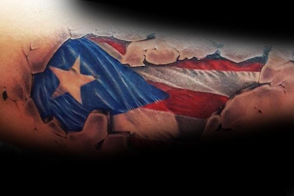 50 Puerto Rican Flag Tattoo Ideas For Men Puerto Rico Designs In 2020 Puerto Rico Tattoo Puerto Rican Flag Mexican Flag Tattoos