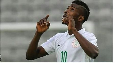 Super Eagles Win Zambia 2 - 1 in 2018 World Cup Qualifier Match   The Super Eagles of Nigeria today in far away Ndola Zambia started their 2018 World cup qualifying campaign on a winning note.  Kelechi Iheanacho celebrates his goal  The eagles defeated their host the Chipolopolo of Zambia by two goals to one. The Super eagles in the first half played some of their best football as the trio of Iwobi Iheanacho and Moses Simon gave the Zambian backline a torrid time. Alex Iwobi opened scoring…