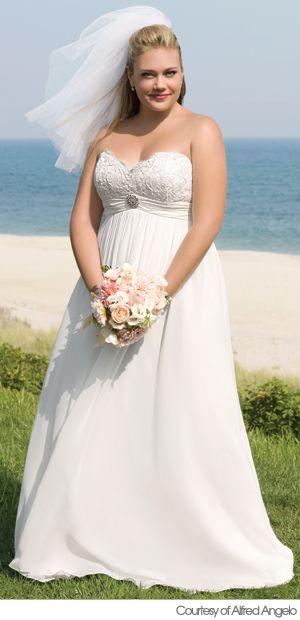 Modest Wedding Dresses In Houston Tx : Best noivas plus size images on