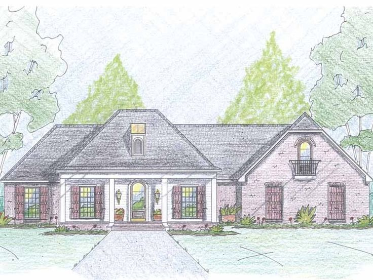 this french country house plan with 4 bedroomss 2 bathrooms 1 story and 2177 total square feet from eplans exclusive assortment of house plans