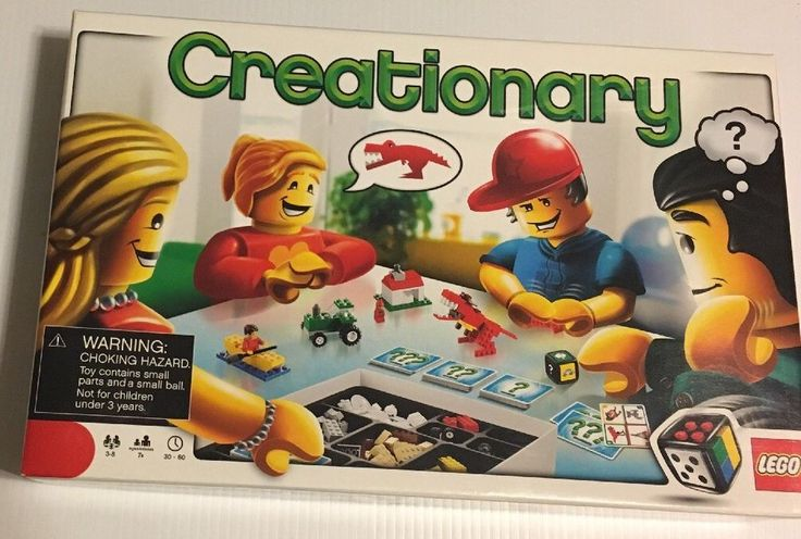Lego Creationary Game 3844 - Retired and I Counted the pieces! Christmas Fun!  673419131223 | eBay
