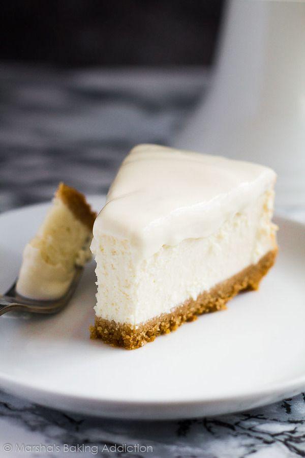 Perfect Vanilla Cheesecake Recipe Cheesecake Recipes Vanilla Cheesecake Recipes Cheesecake