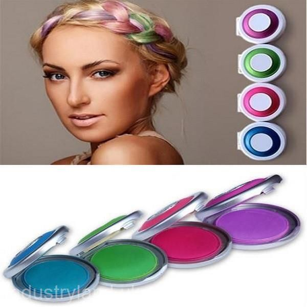 Hot Huez Temporary Hair Chalk Powder DIY Hair Styling Easy Color Easy Wash INK