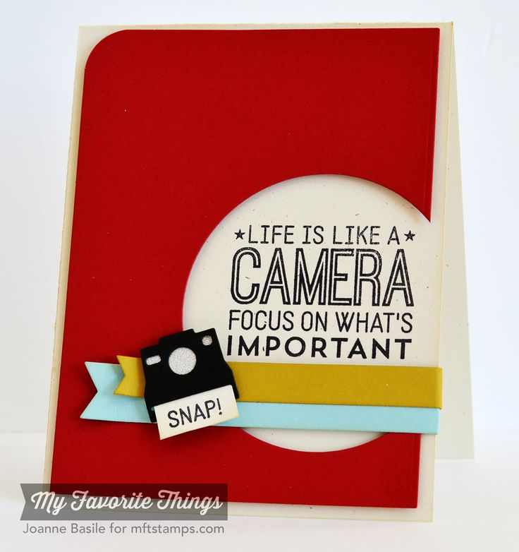 Picture This, Cute Cameras Die-namics - Joanne Basile #mftstamps