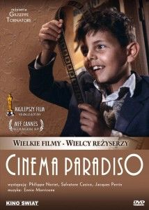 Cinema Paradiso (1988) Oscar for Best Foreign Film. Beautiful! a Sicilian boy is mesmerized by the movies. He befriends projectionist Alfredo, who mentors him and tells him to leave home to pursue his dreams. Now a famous film director, Salvatore returns home for the first time 30 years later for Alfredo's funeral and is overcome with warm memories of his childhood even as the town has changed. Philippe Noiret, Enzo Cannavale, Antonella Attili...TS foreign/drama