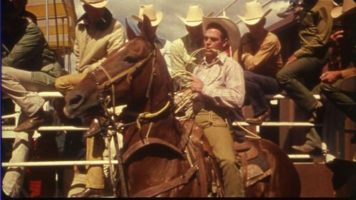 World Champion Cowboy Phil Lyne Of George West Tx Competes In The Calf Roping Contest Rca Approved Rodeo From U S National Archives