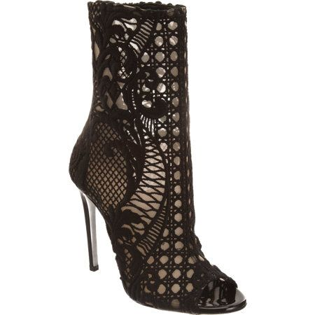 Balmain Lace Embroidered Boot  I can come up with countless outfits for these.. I would want to get buried in them