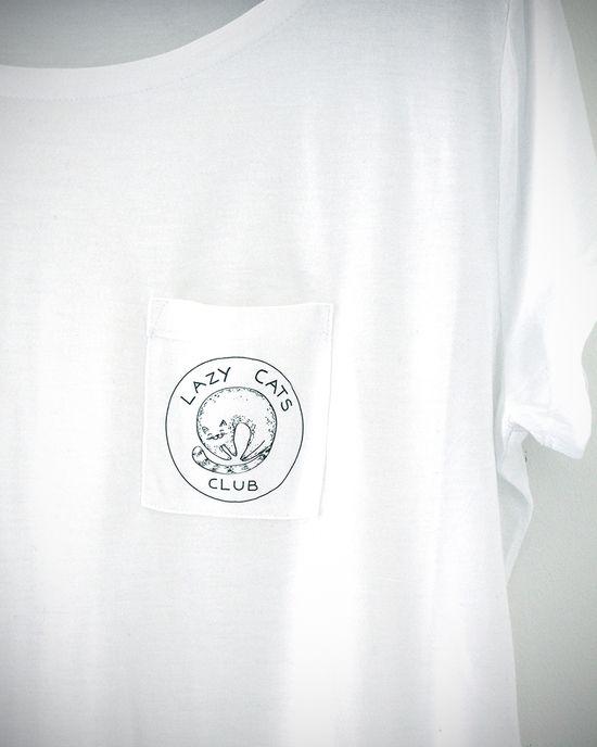 Lazy Cats Club Pocket Shirt
