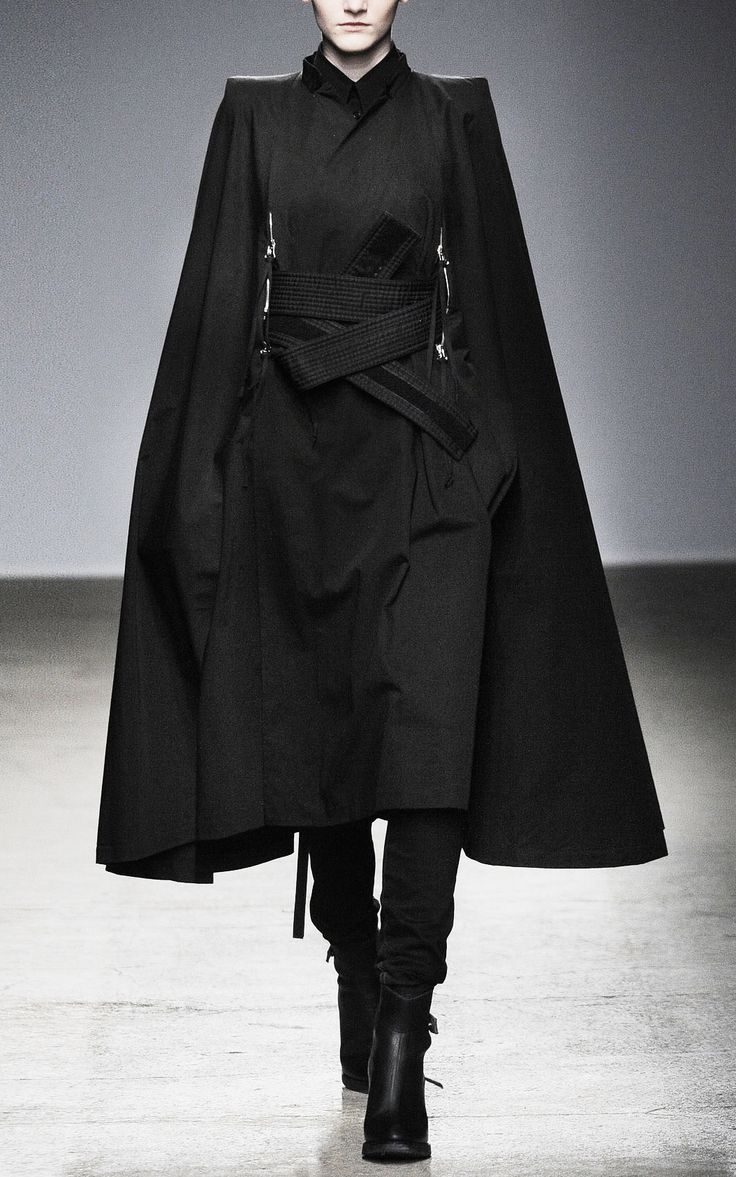 Dark robes. Straight and strong. Nicolas Andreas Taralis F/W 10/11.