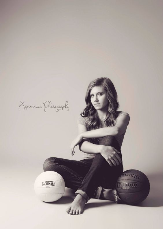 Senior Portrait / Photo / Picture Idea - Girls - Multi Sport