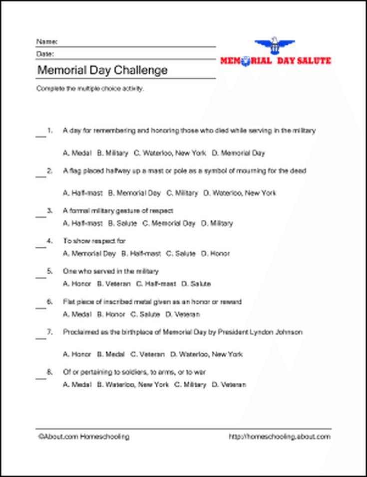 8 best Memorial Day activities images on Pinterest ...