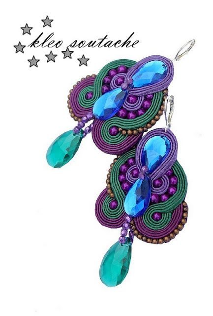 Sutasz Kleo /Soutache jewellery: Audrey