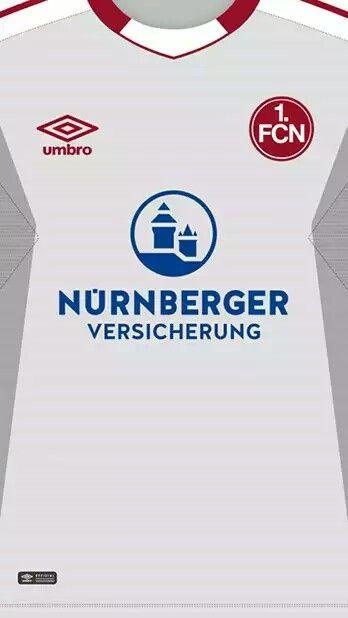 FC Nürnberg 17-18 kit away