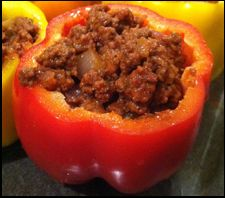 Meatloaf Stuffed Peppers Recipe - Ideal Protein Friendly