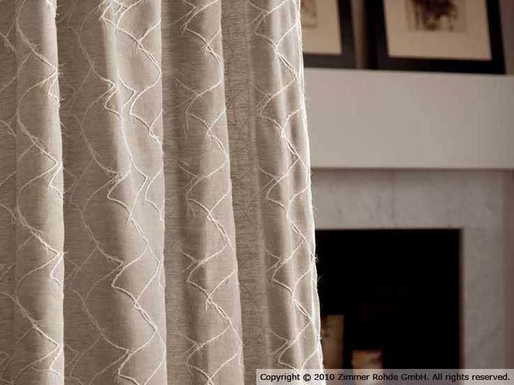 Tenda a bastone in lino DAVEY by Zimmer   Rohde
