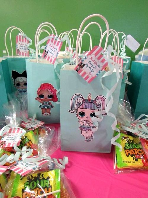 LOL Surprise Party Favor Bags – lol party