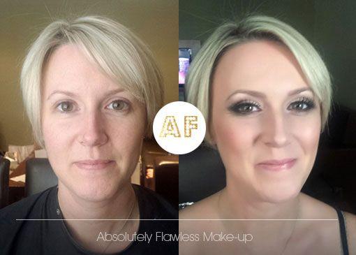 Bridal Makeup flawless skin with silver smokey eyes