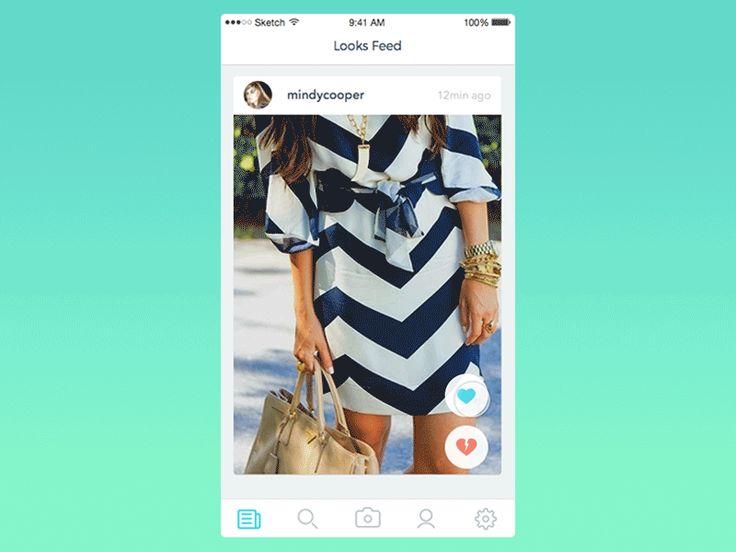 Fashion voting app