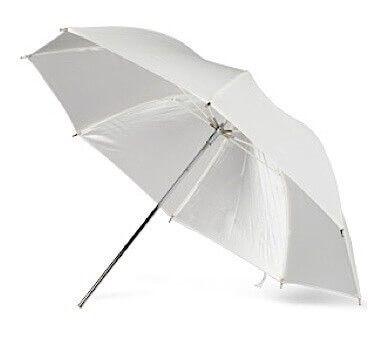 Studio Umbrella - White Shoot Through - 43 inch