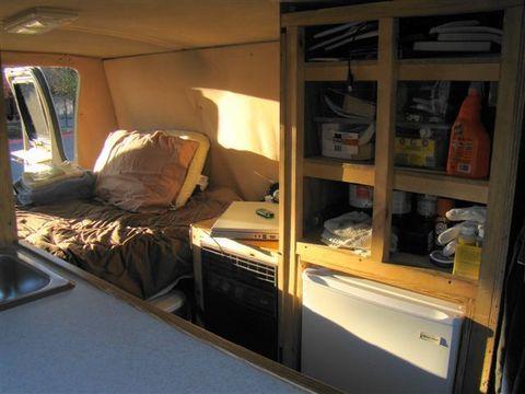 Cheap Rv Living Com Steve S Van Conversion My Van Down