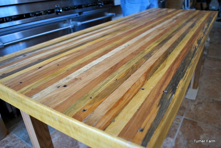 Farmhouse Table made from Pallets ~ Turner Farm