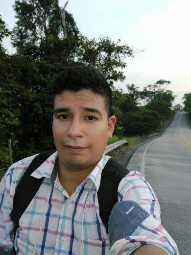 Viajando hacia el puente internacional de San Miguel en el Putumayo