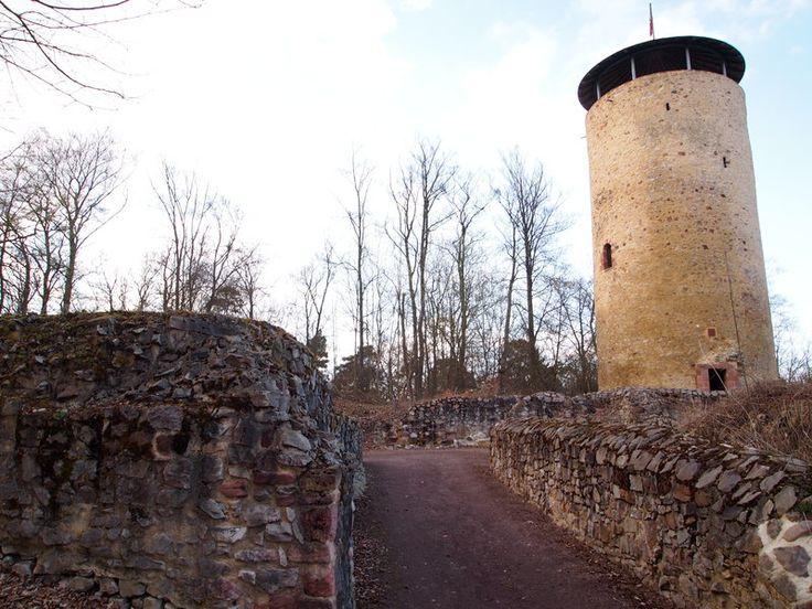 Burgen und Schlösser   Kreis Schwalm-Eder   Kreis Schwalm-Eder