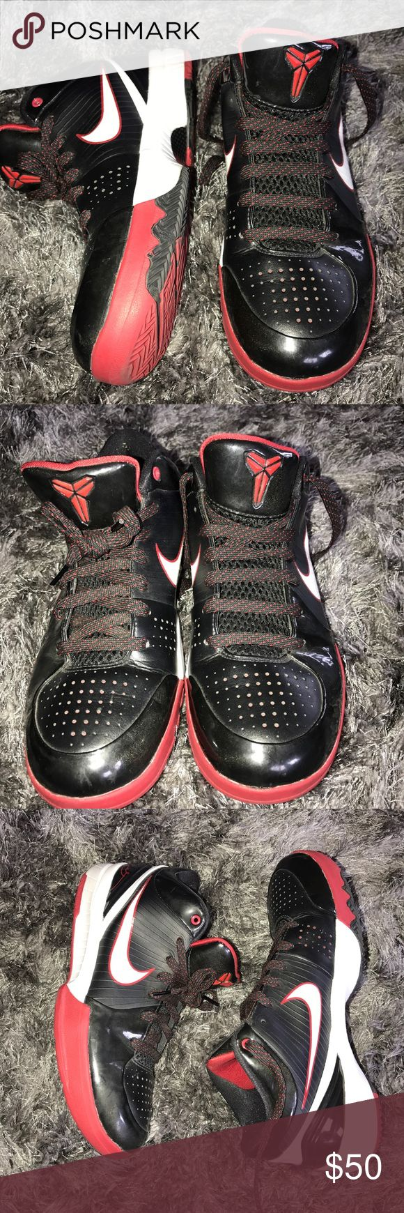 Kobe Bryant shoes Basketball shoes. Super comfy, like new. Only worn a few  times indoors only. Nike Shoes Sneakers