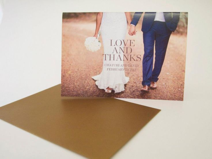 Thankyou wedding cards