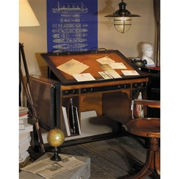 Drafting table with great storage.