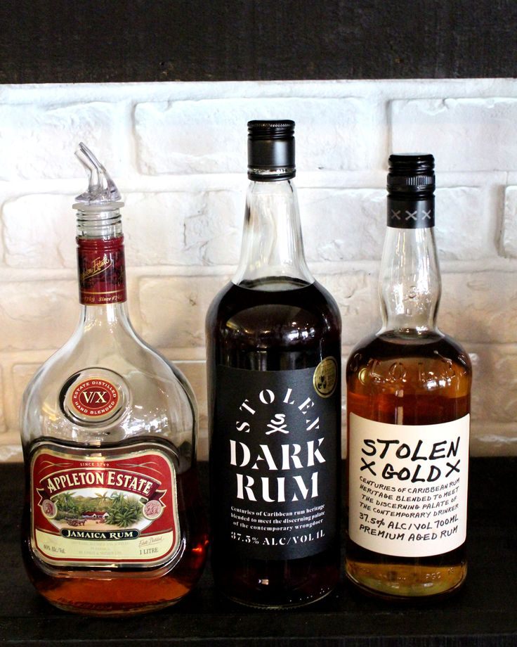 Tomi's Top Shelf Rums