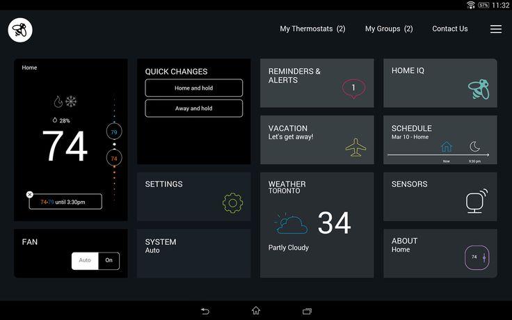 home automation lights UI - Google Search
