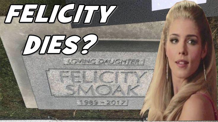 Arrow Season 6: Felicity's Dies? Leaked Set Tombstone Photo & Theories!!!