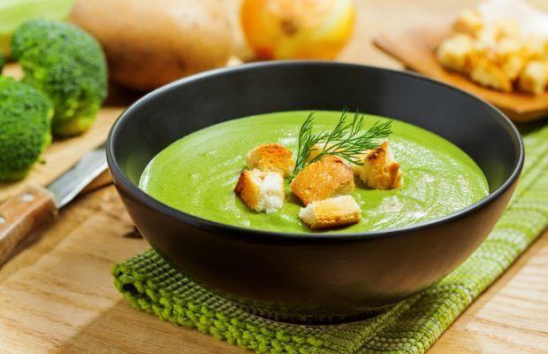 #Supa crema de broccoli | Broccoli cream #soup